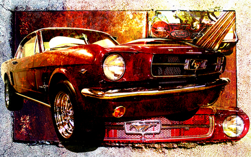 RED MUSTANG (large view)