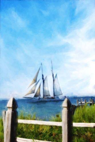 THE SAILBOAT by Kim Curinga