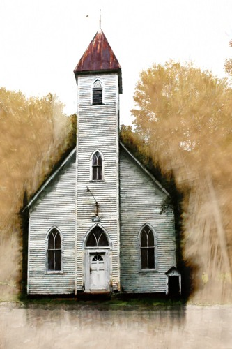 OLD CHURCH by Kim Curinga