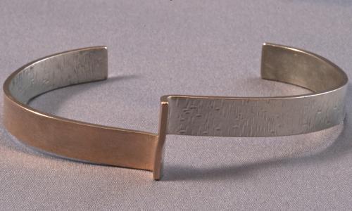 Textured Cuff Bracelet (large view)