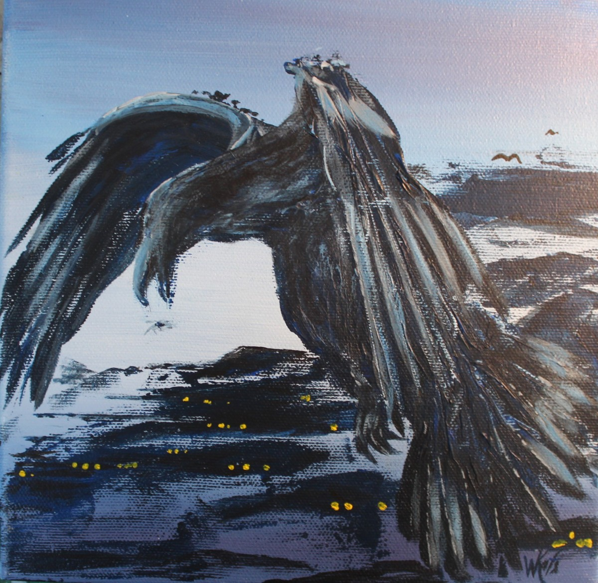 Evening Raven (large view)