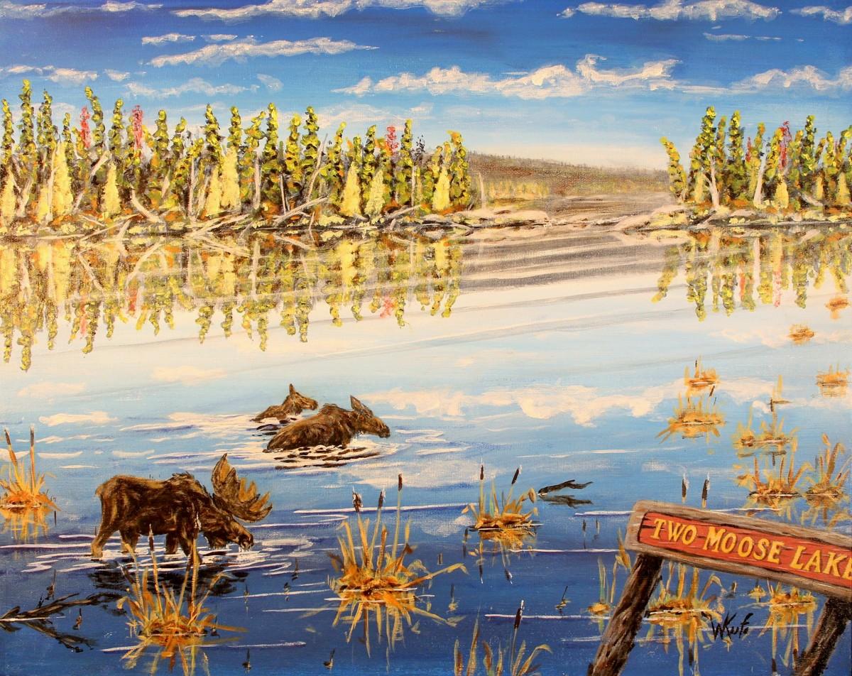 Two Moose Lake (large view)