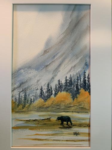 NORTH NAHANNI BLACK BEAR by Wayne Keefe