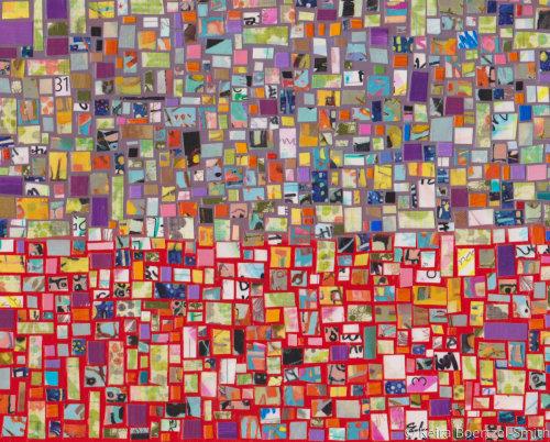 Calendar Art 5 - Purple