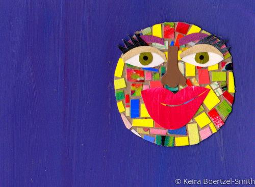 Circle Art - New Moon