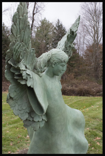 File #293  Freedom Angel  by Dance & Ballet Captured in Bronze!