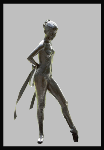 File #288 CWK Jr. by The Fine Art of Dance & Ballet Captured in Bronze!