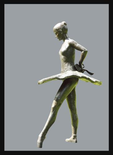 Balanchine's-Dancer-Elise by The Fine Art of Dance & Ballet Captured in Bronze!