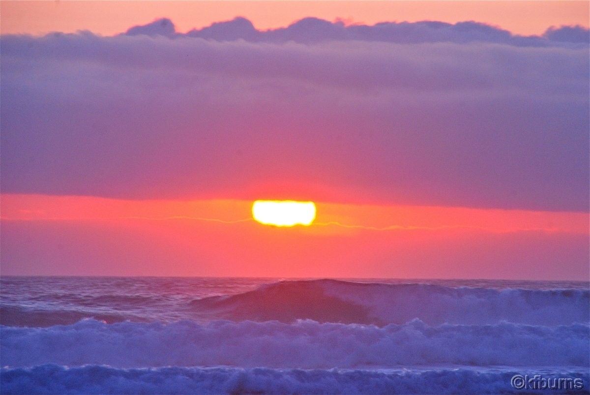 West coast sunset (large view)