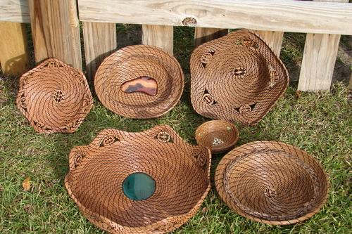2009 pine needle baskets