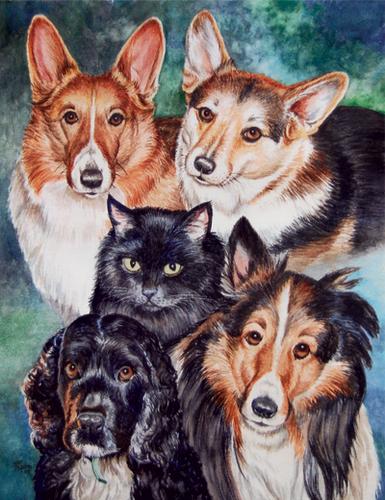 Five Fur Kids