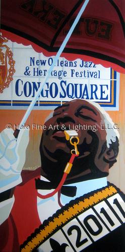 Offical 2011 Jazz & Heritage Festival Congo Square Original