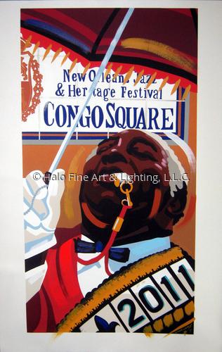Congo Square 2011 C-Marque Artist Proof
