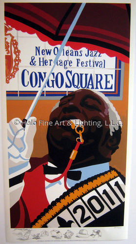 Congo Square 2011 ReMarque Artist Proof