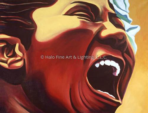 Mighty Mahalia by Halo Fine Art & Lighting, L.L.C.