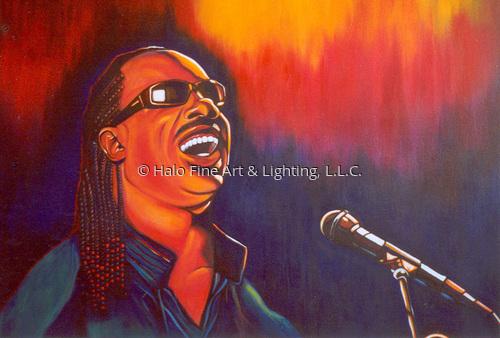Stevie by Halo Fine Art & Lighting, L.L.C.