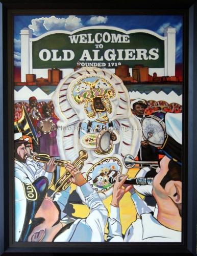Official 2012 Old Algiers Riverfest Original