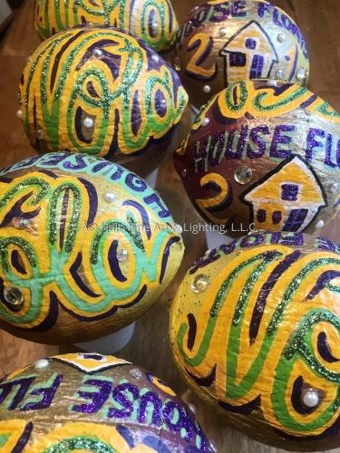 Hand Painted Coconuts