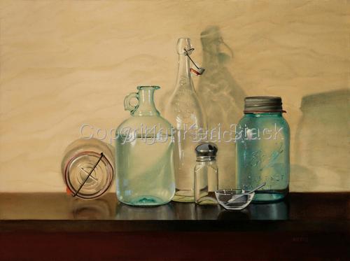 Glass Jars by Keri Stack