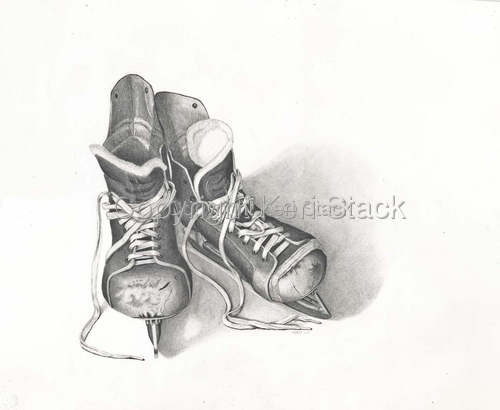 Hockey Boots by Keri Stack