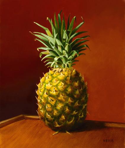 pineapple painting. Maui Pineapple Painting \