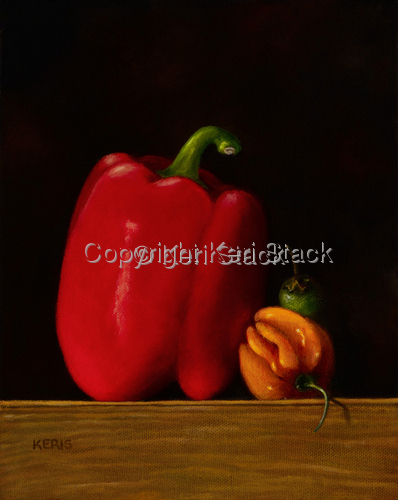 Peppers by Keri Stack