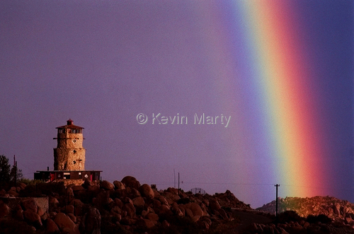 Tower and Rainbow by Kevin Marty
