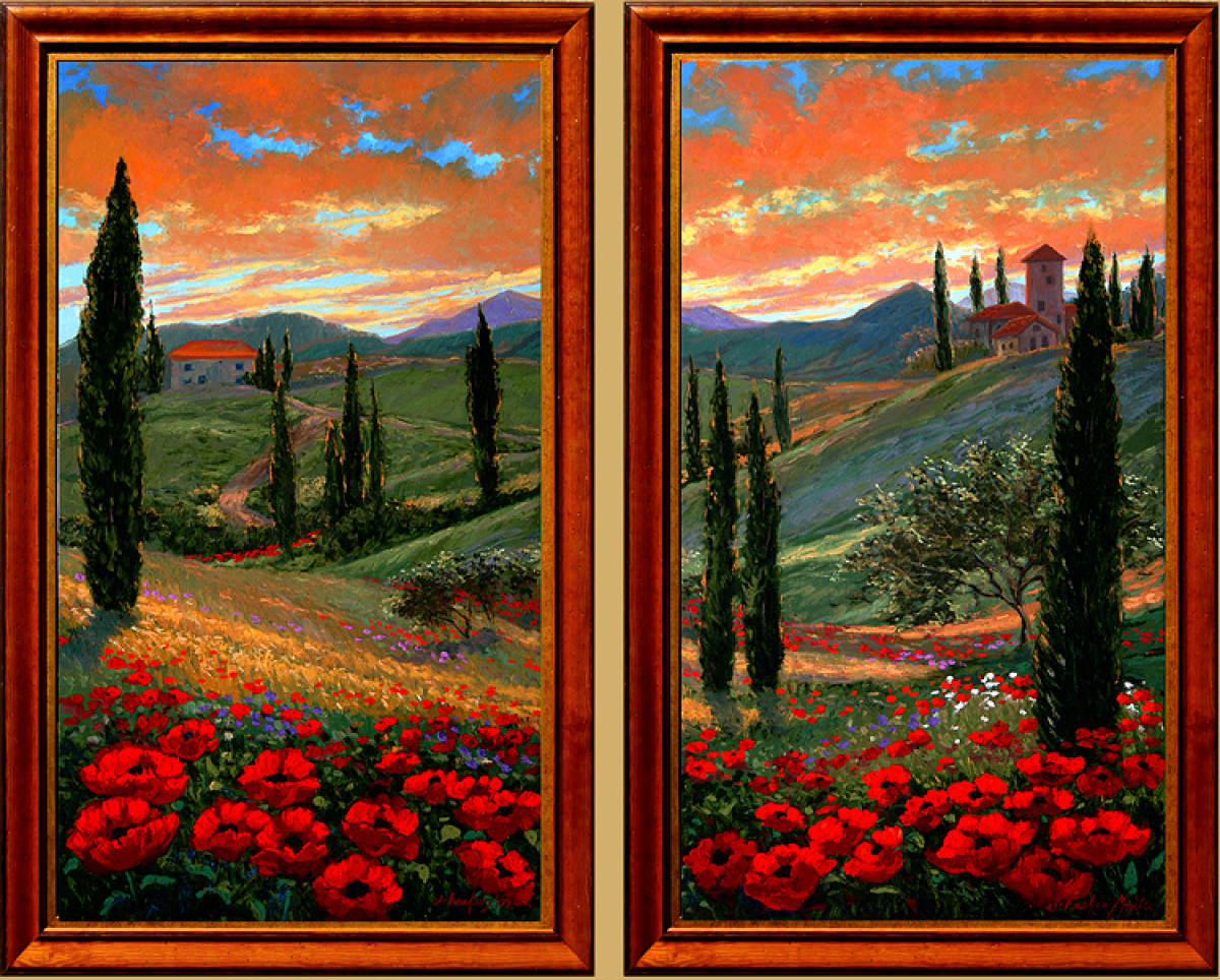 Tuscan Fantasy 1 & 2 (large view)