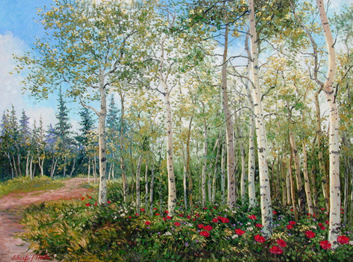 Aspen Forest (large view)