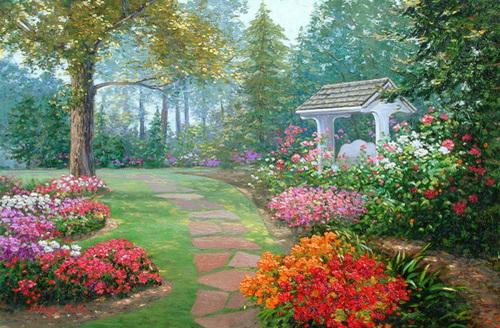 Garden Woodland
