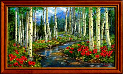 Aspen Poppies Stream