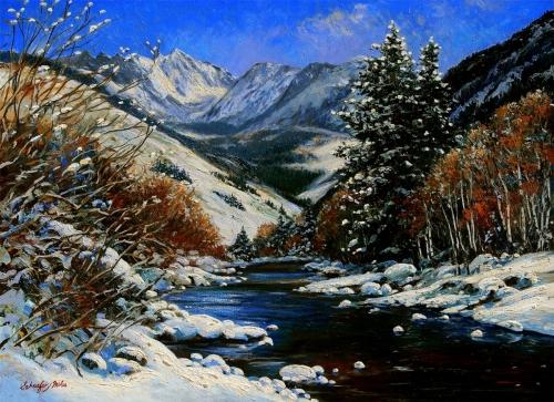 Winter Gore Range
