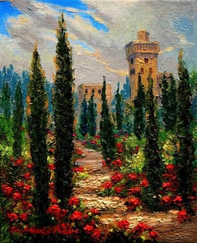 Garden View, Alhambra Granada, Spain