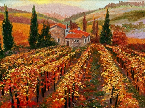 Vineyards of Provence, Fall