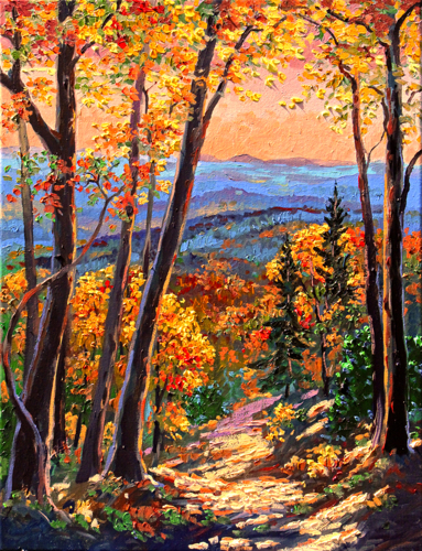 """Fall in the Smokies"" print"