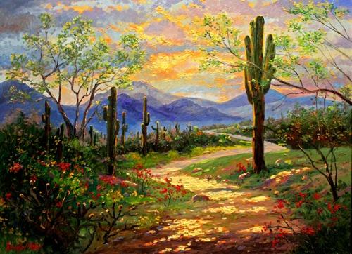 Desert Trail Giclee SN 95