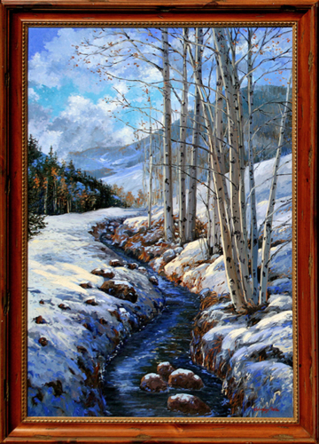 Aspen Stream Winter