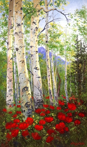 Aspen Poppies Delight