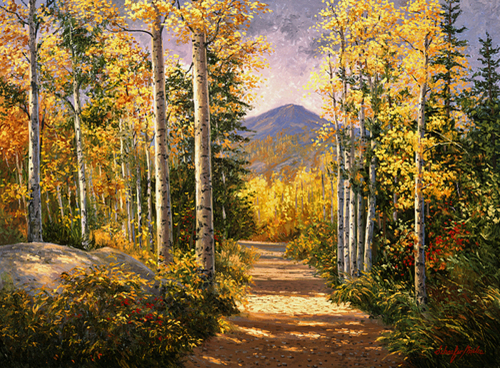 Light in the Aspen
