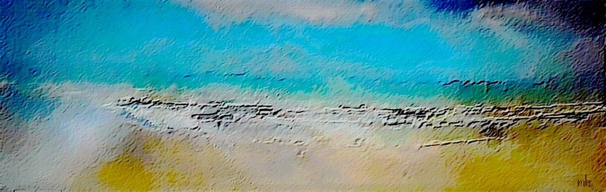 Sea, Sand and Sky Meet (large view)