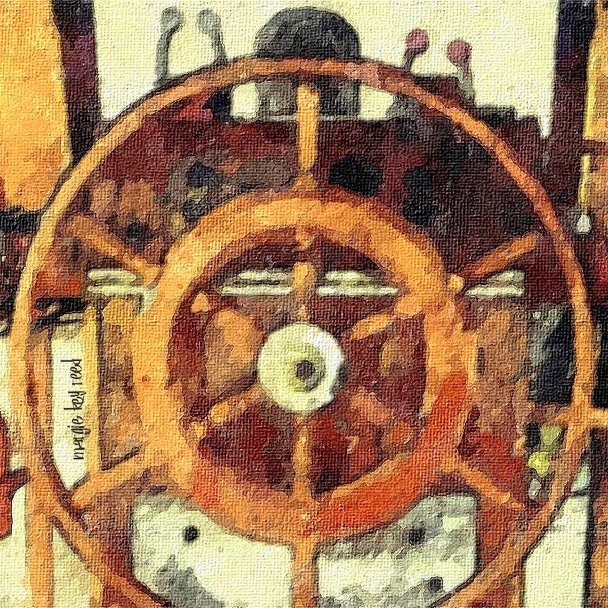 Captain's Wheel (large view)