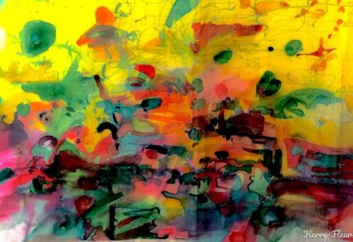 Colour City by Kerry-Fleur Schleifer
