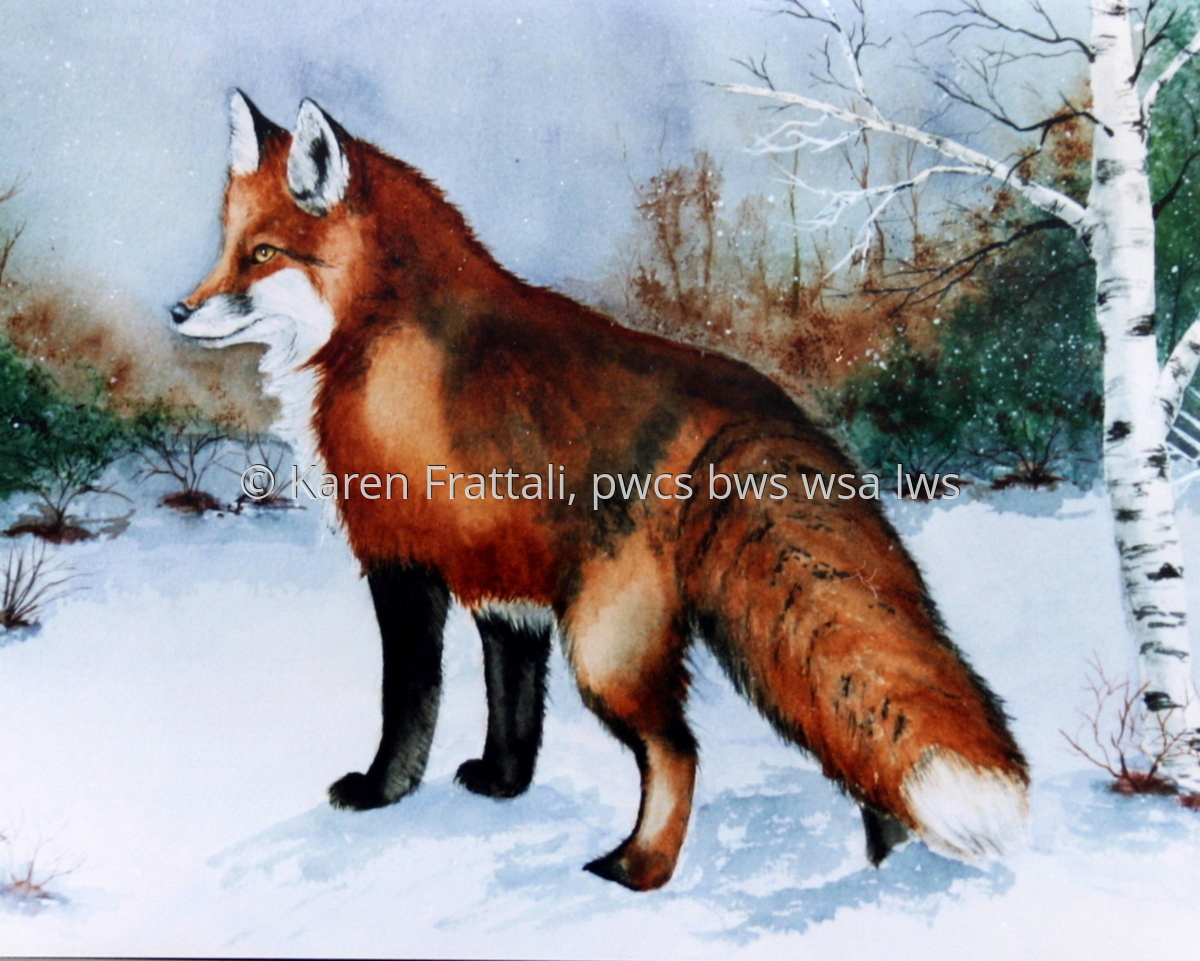 Red Fox, sold (large view)