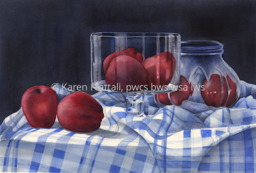 Delicious Giclee by Karen Frattali, pwcs. bws, wsa.