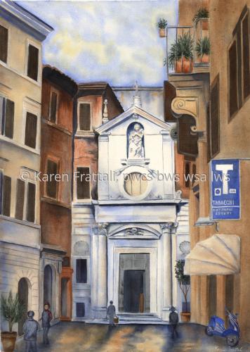 Roma by Karen Frattali, pwcs. bws, wsa.
