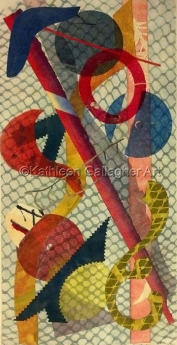 Net Gains by Kathleen Gallagher Art