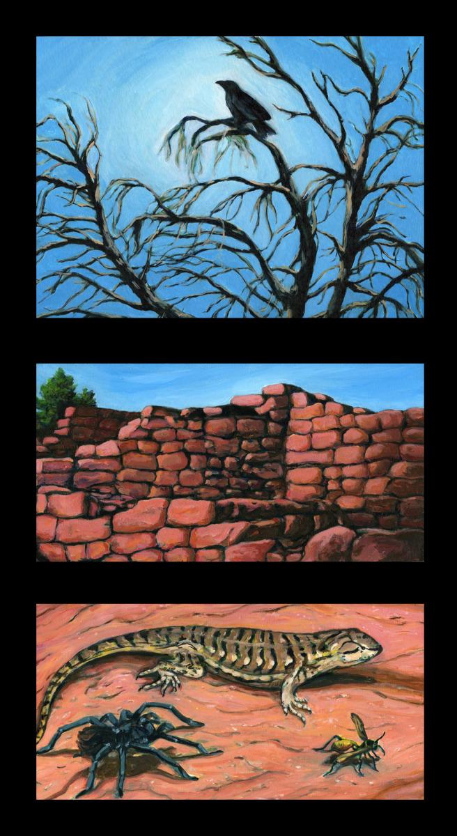 Mesa Verde Triptych (large view)