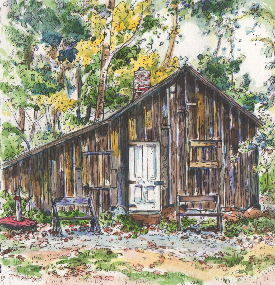 Aldo Leopold's Shack (large view)
