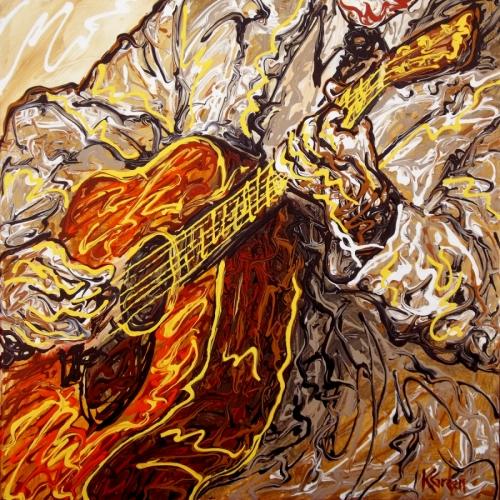 Guitarist 001