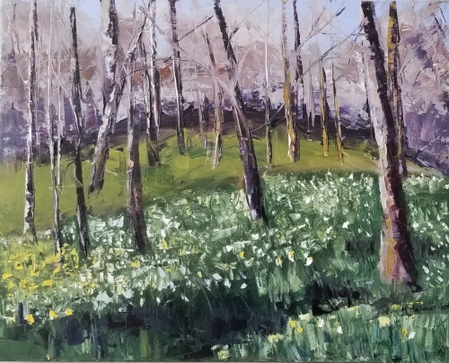 Daffodils in the Forest